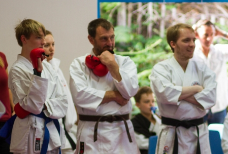 Sensei Oren, Mark and Daniel Brightey